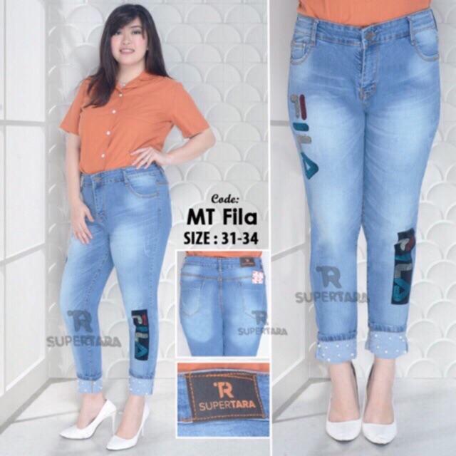 jeans fila - Temukan Harga dan Penawaran Jeans Online Terbaik - Pakaian Wanita Desember 2018  