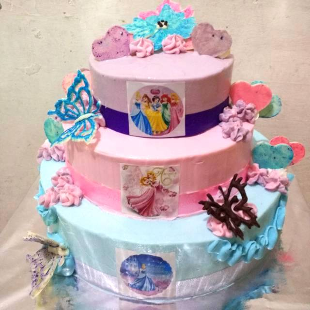 Kue Ulang Tahun 3 Tingkat 3 Tier Cake Shopee Indonesia