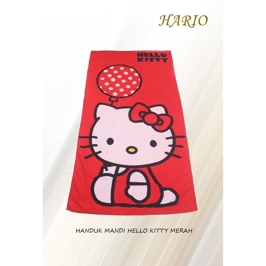 Handuk Mandi Dewasa Terlaris Doraemon Kimono Shopee Rosanna Printing Panel 72x145 Manchester Indonesia