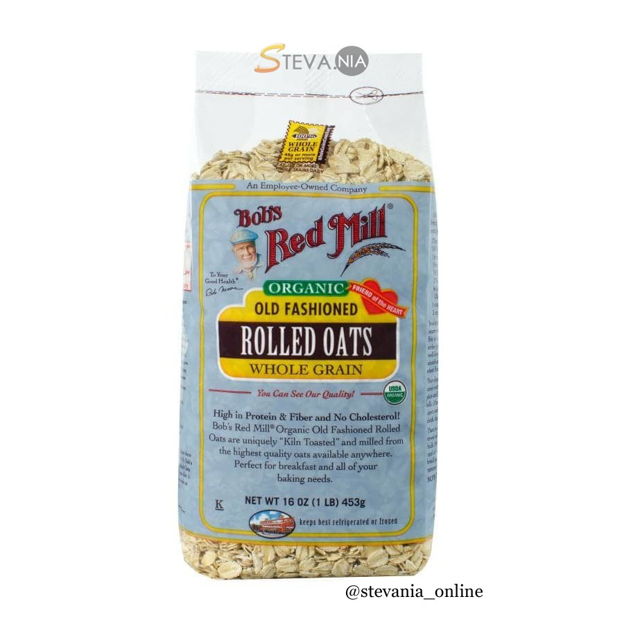 Promo Bob s Red Mill Organic Rolled Oats .