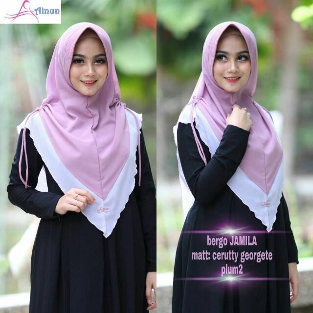 Bergo Jamila By Ainun Shopee Indonesia