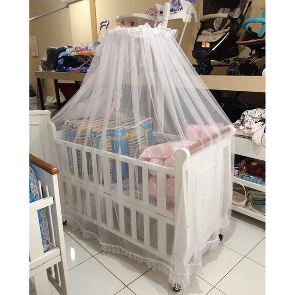 TERBARU Kainaya Kelambu Baby Box 1 Tiang / Kelambu Baby Box / Kelambu Bayi Good Quality | Shopee Indonesia