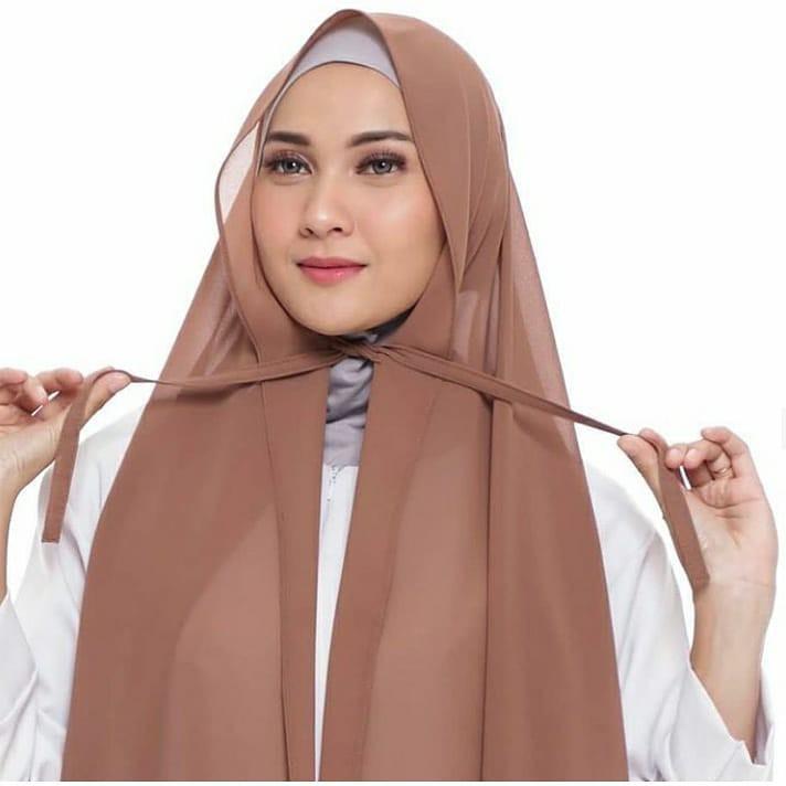 Jilbab Pashmina Tali Diamond Hijab Pasmina Shopee Indonesia