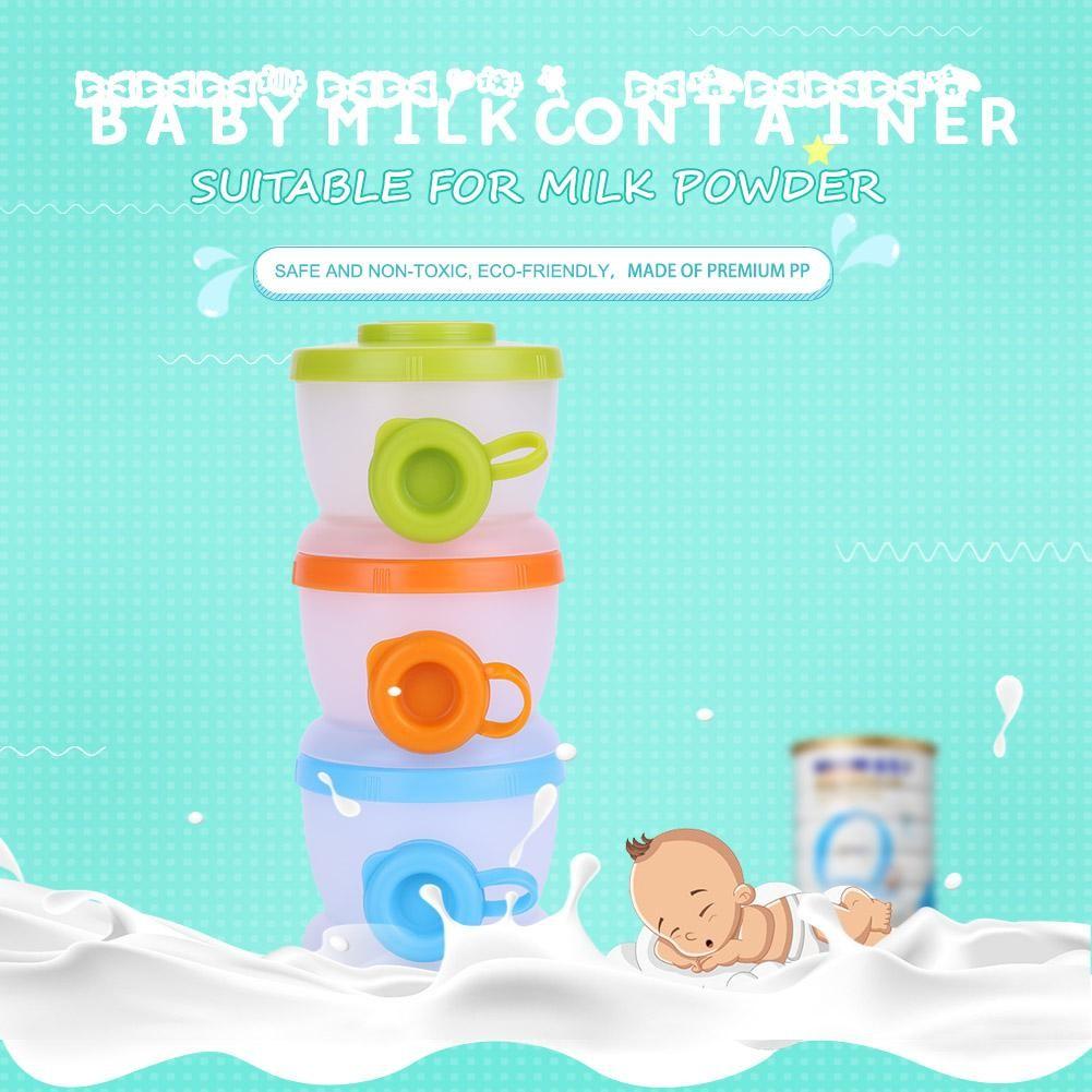 Pumpee 3 Section Milk Container Dispenser Tempat Penyimpanan Susu Formula Bayi | Shopee Indonesia