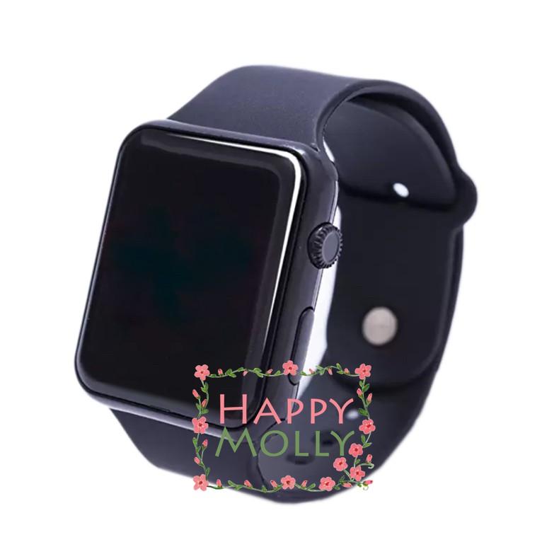 LED Watch   Grey Rose Gold   Jam Tangan Digital Pria   Wanita - Strap  Rubber  0ee7afac1d