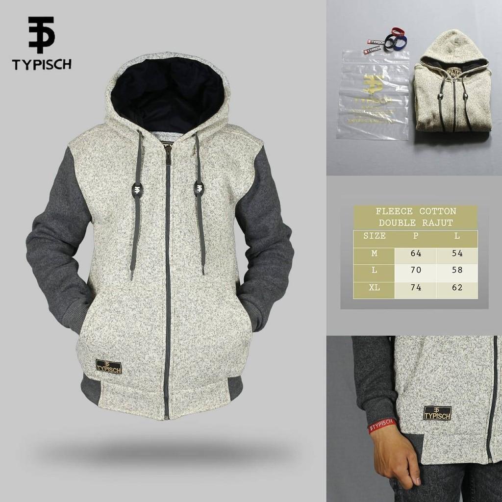 Jaket Premium Typisch Bonus Gelang Original Cowok Sweater Promo Freeongkir Shopee Indonesia
