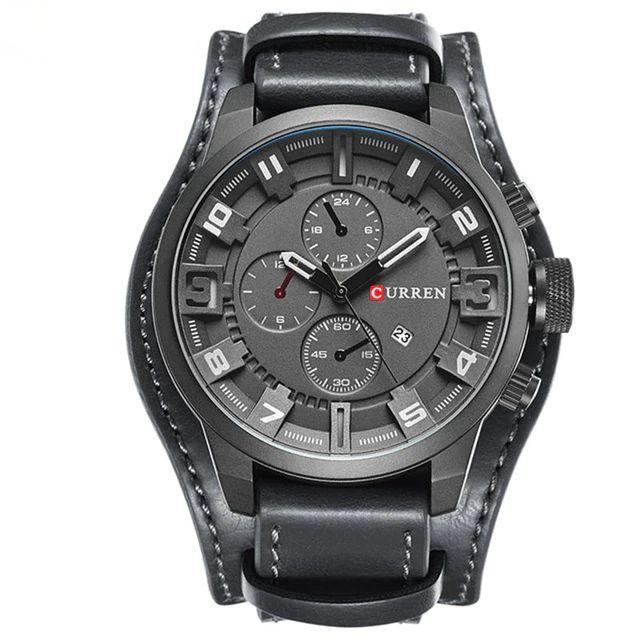 Waterproof Men Iron Samurai Stainless Steel Watch LED Digital Watches Women | Shopee Indonesia