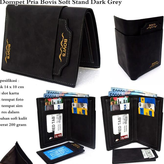 long fashion wallet 8 inch pu leather . Source · dompet pria bovis .