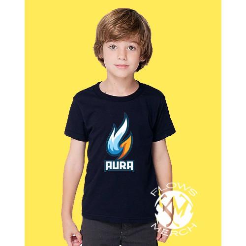 Kaos anak baju anak aura esports