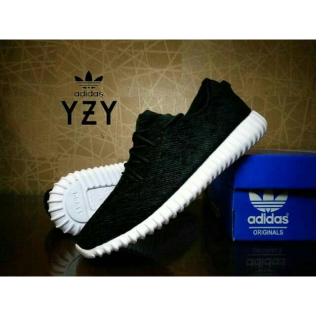 4794c1f8459 adidas yeezy boost 350 pirates black import - full hitam