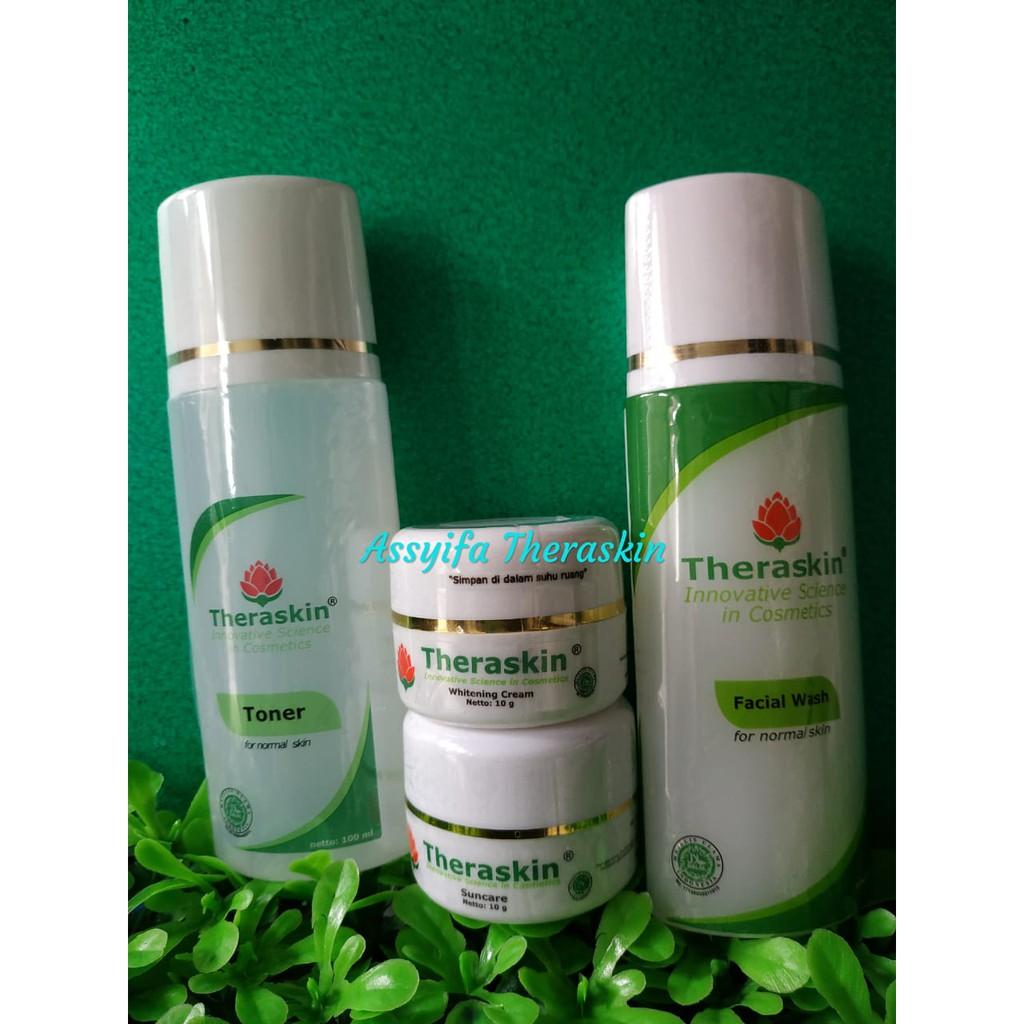 Theraskin Original Paket Normal Whitening Harga Pabrik Shopee Indonesia