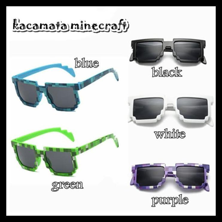 DISKON! fashion kids aksesoris anak - kacamata minecraft  8bde395f66
