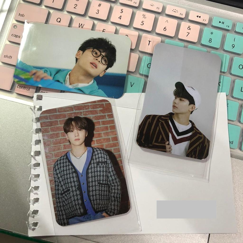 Photocard Benefit Mecima Semicolon Hoshi/Seungkwan