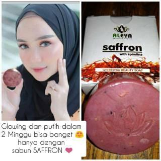 Sabun Saffron plus Spirulina BPOM ORIGINAL thumbnail