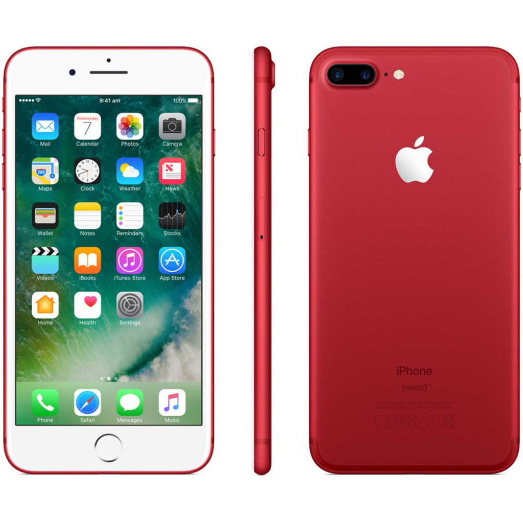 Apple Iphone 7 Plus 128GB Red Garansi 1 Tahun
