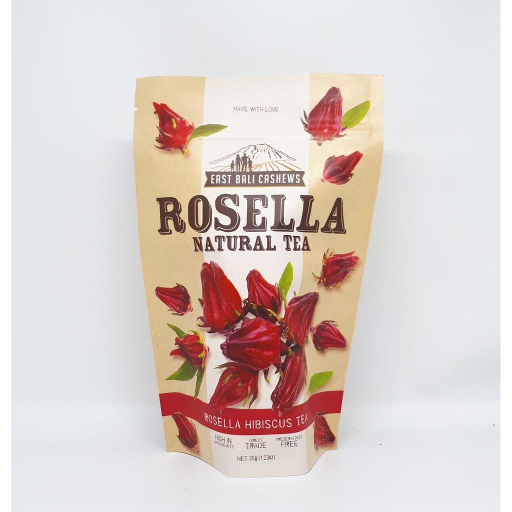 EAST BALI CASHEWS - ROSELLA NATURAL HIBISCUS TEA 35GR