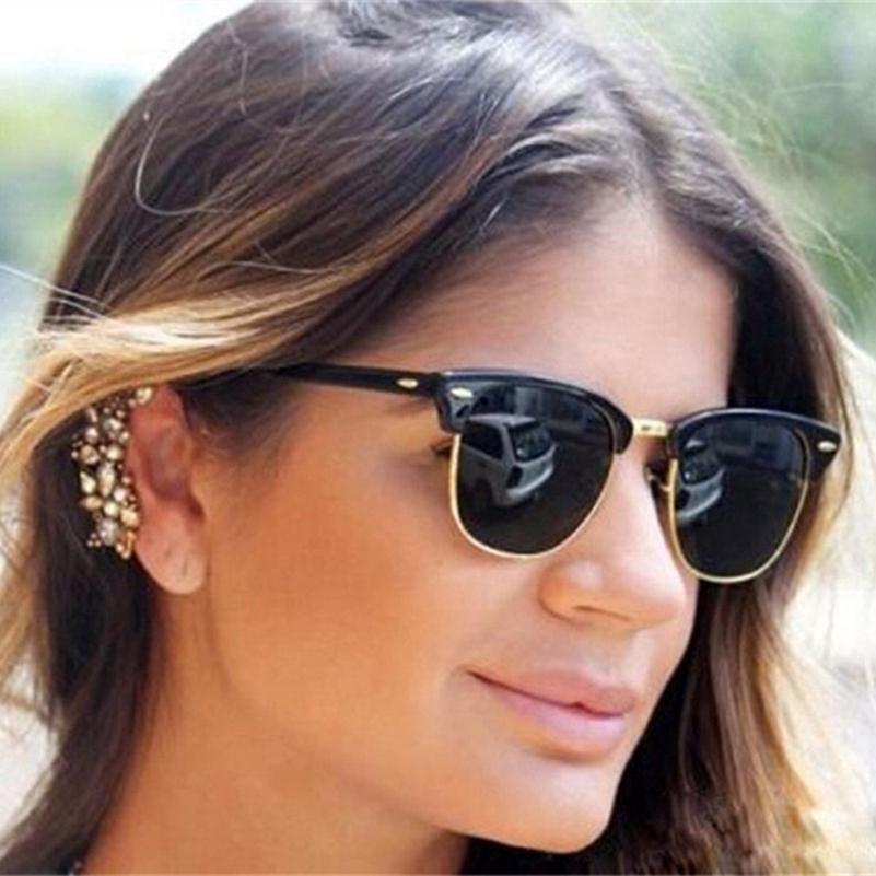 Hot Fashion Eyewear Vintage Retro Unisex Sunglasses Women Brand Designer Men Sun Glasses 4 Colors J47 Shopee Indonesia