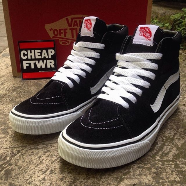 VANS SK8 HIGH CHECKERBOARD   VANS OLDSKOOL HIGH   VANS OFF THE WALL ... 5783bb0fe