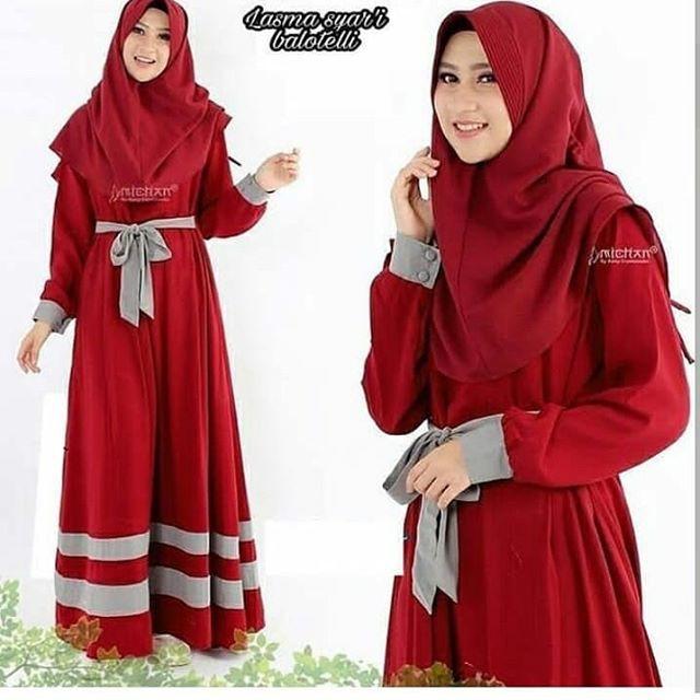 gamis+Hijab+Pakaian+Wanita+Atasan - Temukan Harga dan Penawaran Online  Terbaik - Agustus 2018  d3da49ddb4