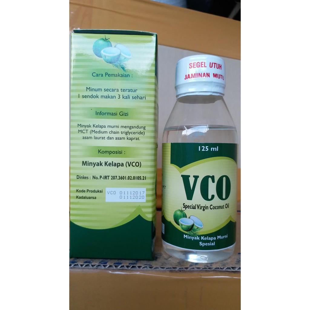 2 Botol Virgin Coconut Oil Vco 1 Isi 125 Ml Daftar Harga Kapsul Eza Minyak Kelapa Murni Asli Shopee Indonesia