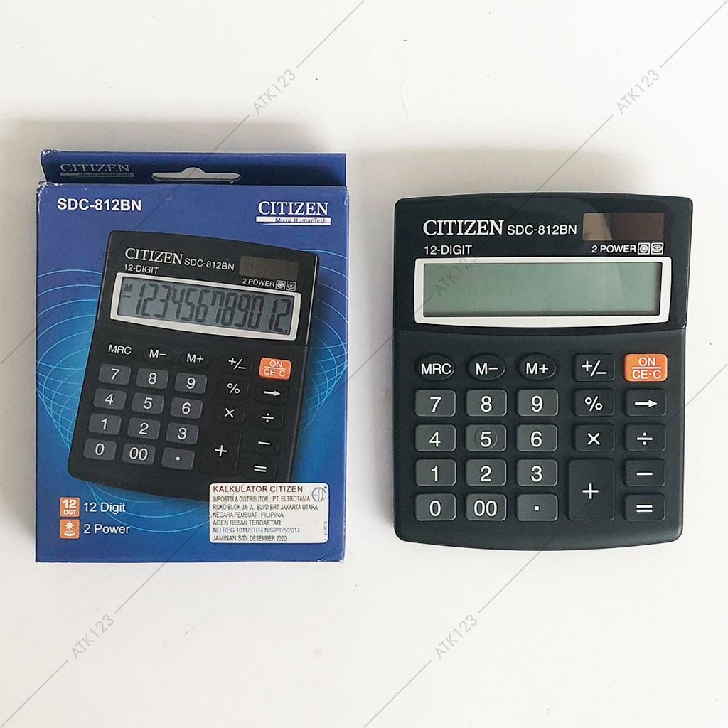 Kalkulator CITIZEN 12 Digit Calculator CT-812BN  7b10be321b