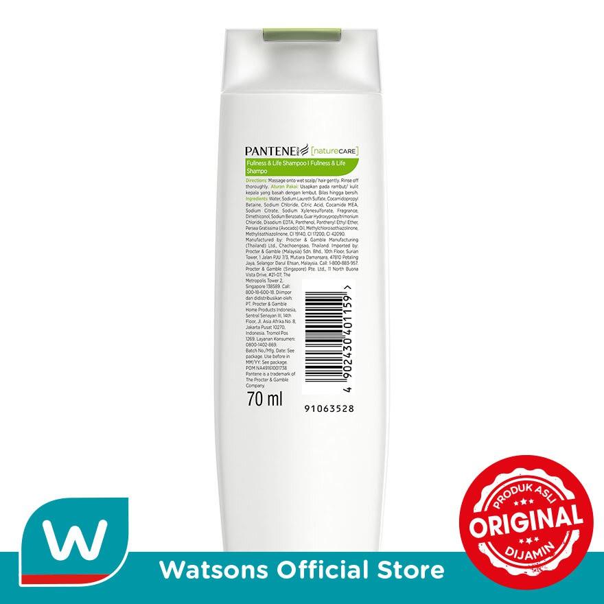 PANTENE Nature Care Fullness & Life Shampoo 70ml-1