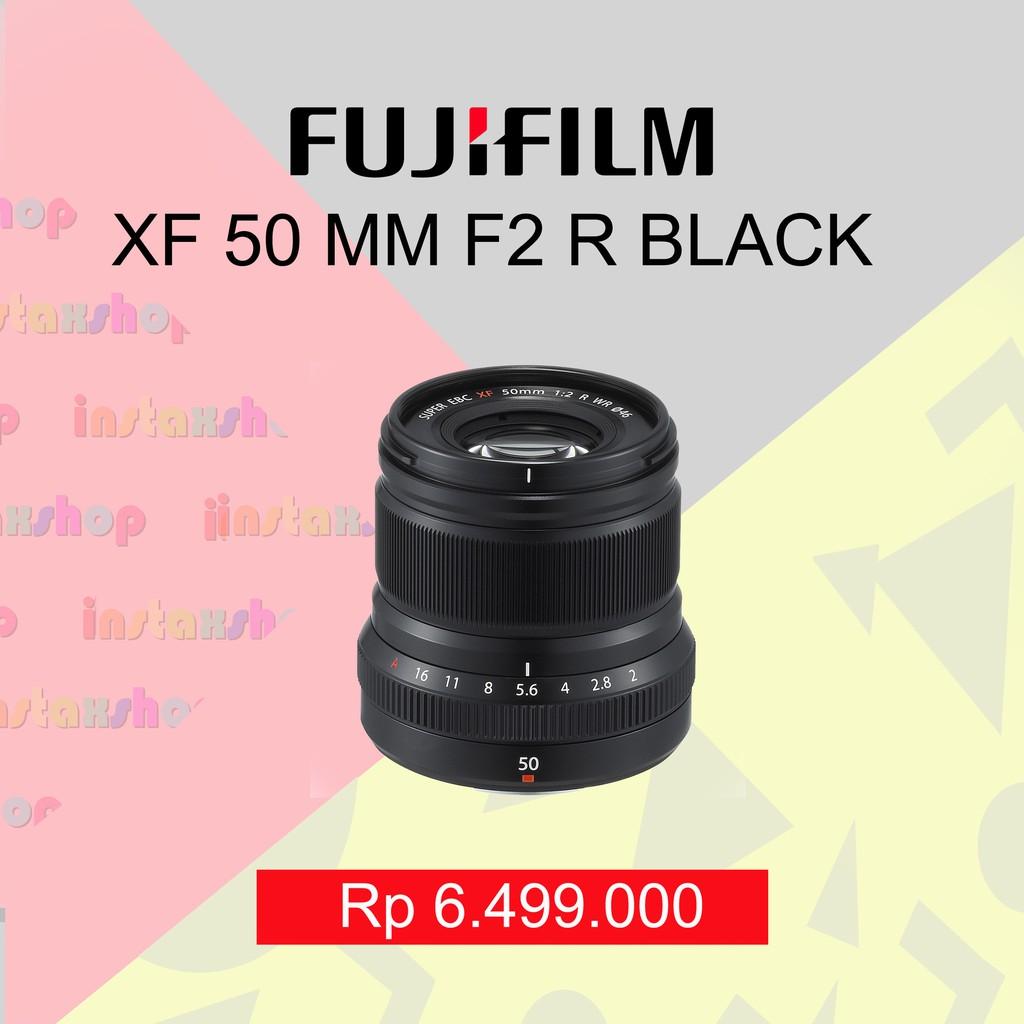 Fujifilm Fujinon Lensa Xf 27mm F28 Hitam Silver Shopee Indonesia Xt20 Body Only Black