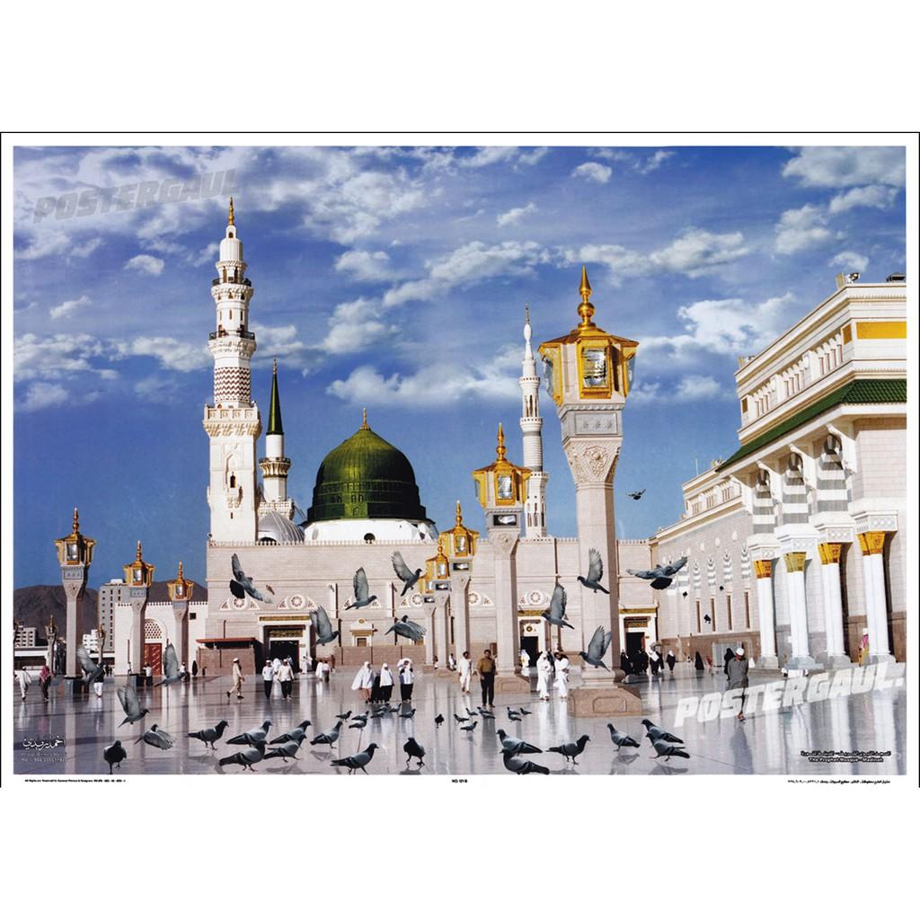 Contoh Gambar Kolase Masjid - Doni Gambar