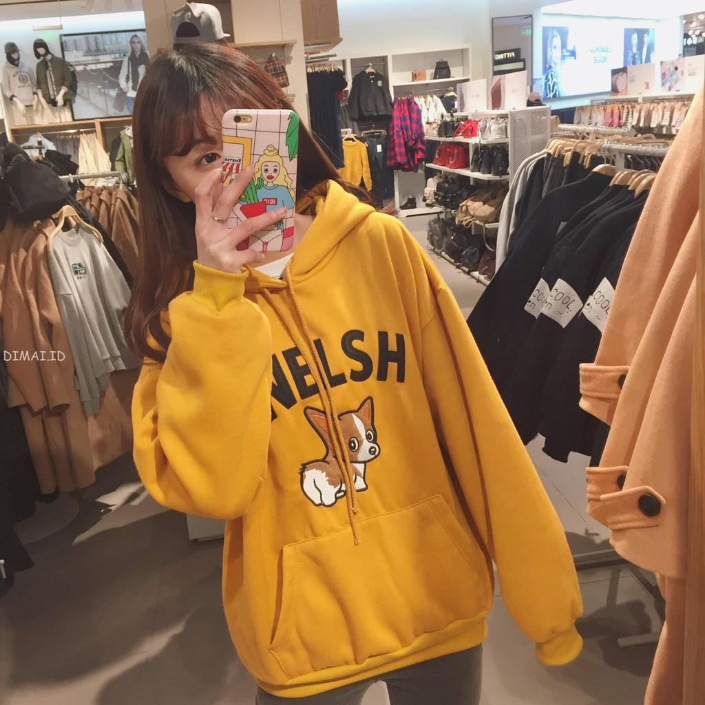 Dimai Sweater Model Longgar Lengan Panjang Gaya Korea untuk Wanita/Musim Gugur | Shopee Indonesia