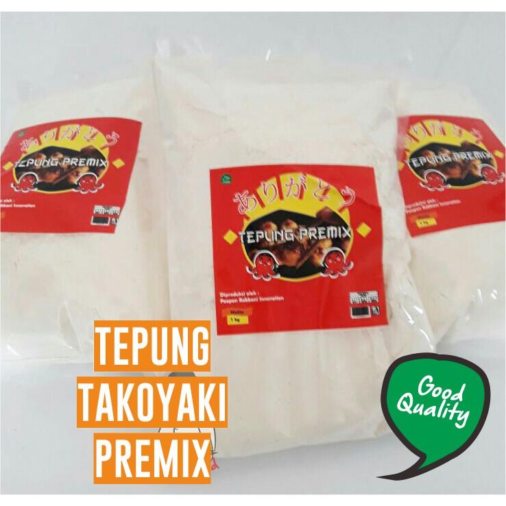 Tepung takoyaki premix ...