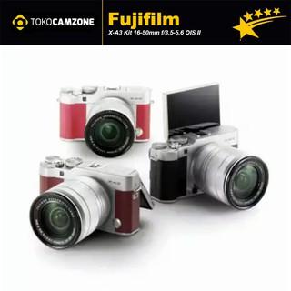 Fujifilm X-A3 Kit 16-50mm f/3.5-5.6 OIS II  READY BROWN, SILVER, PINK