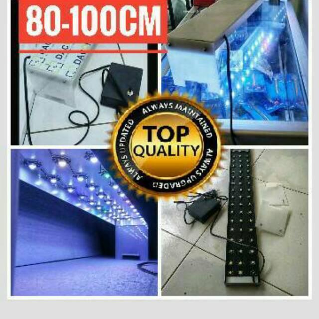 LAMPU LED DIY HPL AQUASCAPE AQUARIUM 70-100CM 1 METER ...