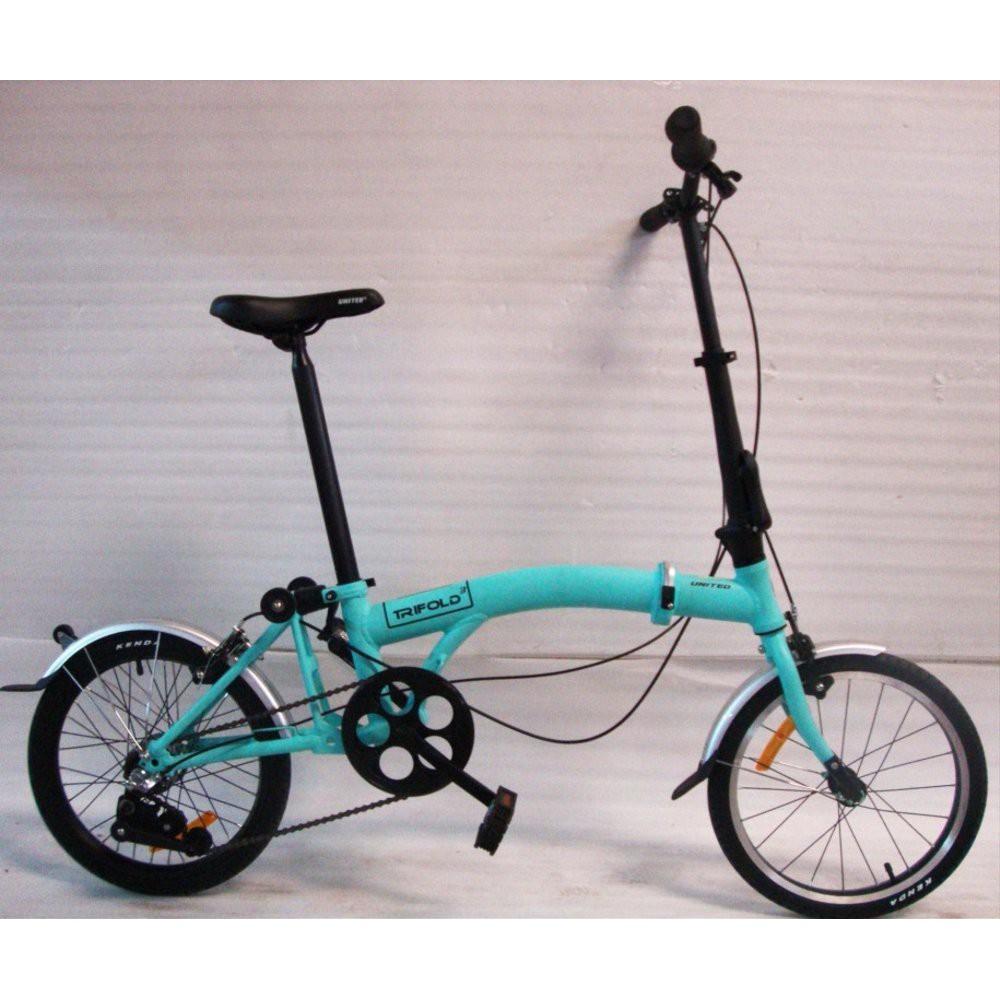Sepeda Lipat 16 Inch United Trifold 3 Speed Tosca Berkualitas Shopee Indonesia
