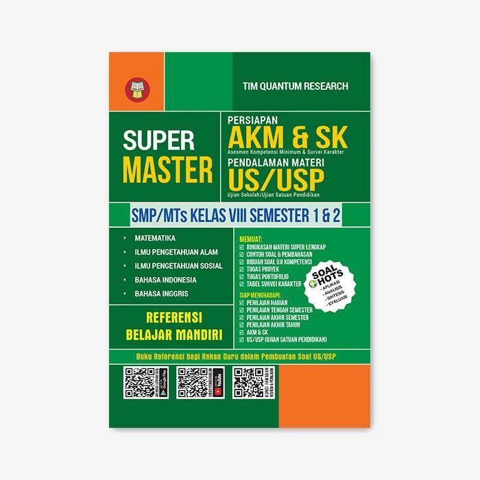 Yrama Widya Buku Super Master Persiapan Akm Sk Sp Mts Kelas Viii Shopee Indonesia