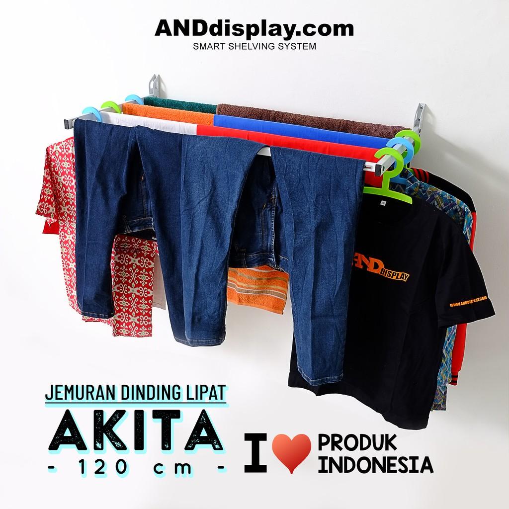 Gantungan Baju Lipat Di Dinding Tembok Shopee Indonesia Indoor Hanger Import