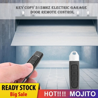 Mojito Ak 1301 4 Key Copy 315mhz Electric Garage Door Remote Control Duplicator Shopee Indonesia