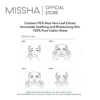 [BPOM] Missha Premium Aloe Sheet Mask 2