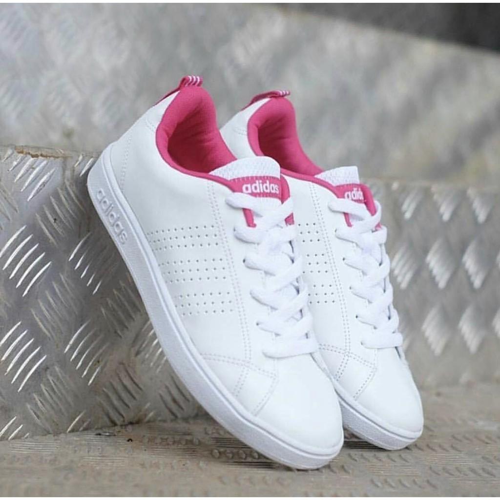 Amazara Vanessa White Pink Sneakers Shopee Indonesia Evelyn Putih 36