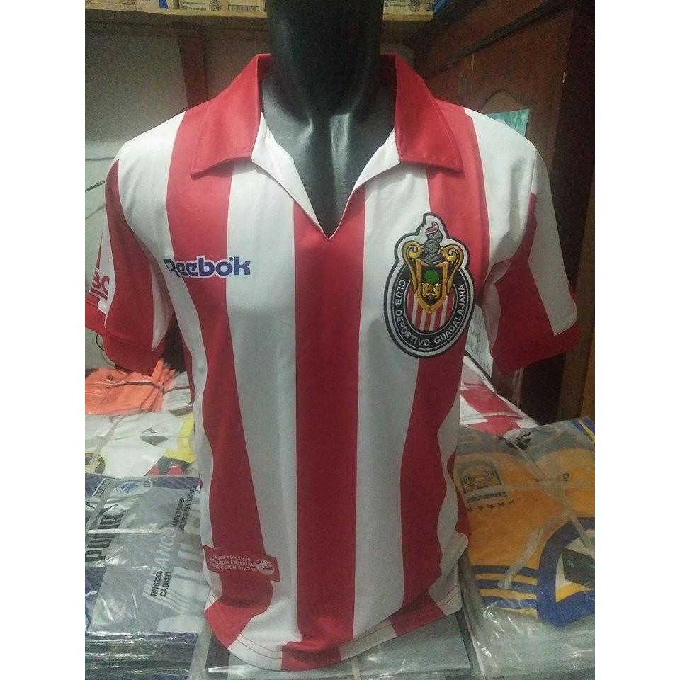 newest b588e 9e228 Jersey Retro GO Chivas Guadalajara
