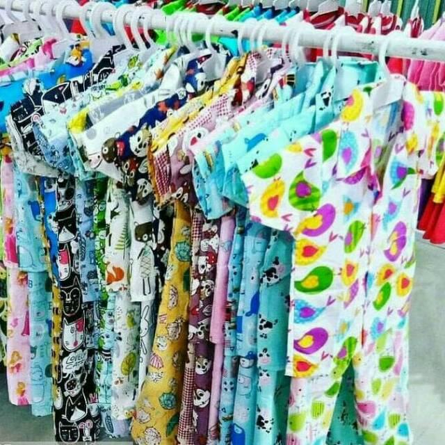 1 5 Th Random Motif Piyama Katun Anak Baju Tidur Anak