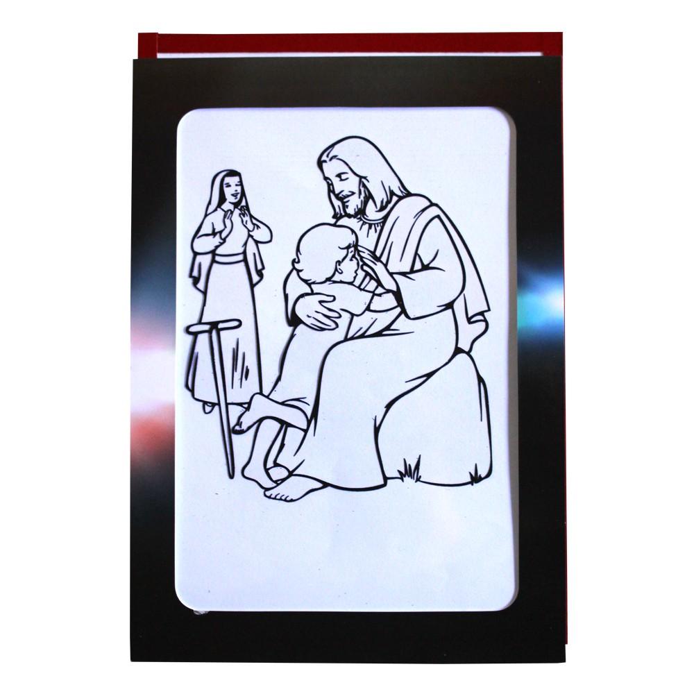 Gospel Magic 019 Coloring Jesus Sulap Rohani Alat Sulap Alat Peraga Sekolah Minggu Shopee Indonesia