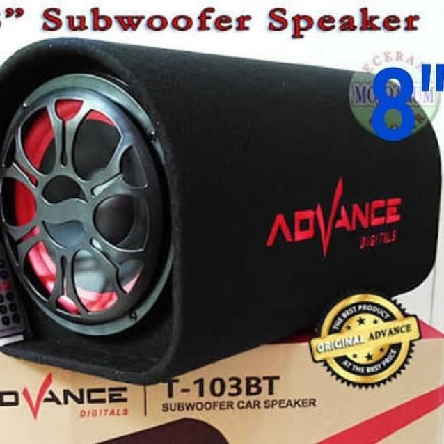 Car Speaker System >> P0 Speaker Mobil 8 Tabung Subwoofer Car Speaker 8 Inch Advance T103 Bt Buruan Beli