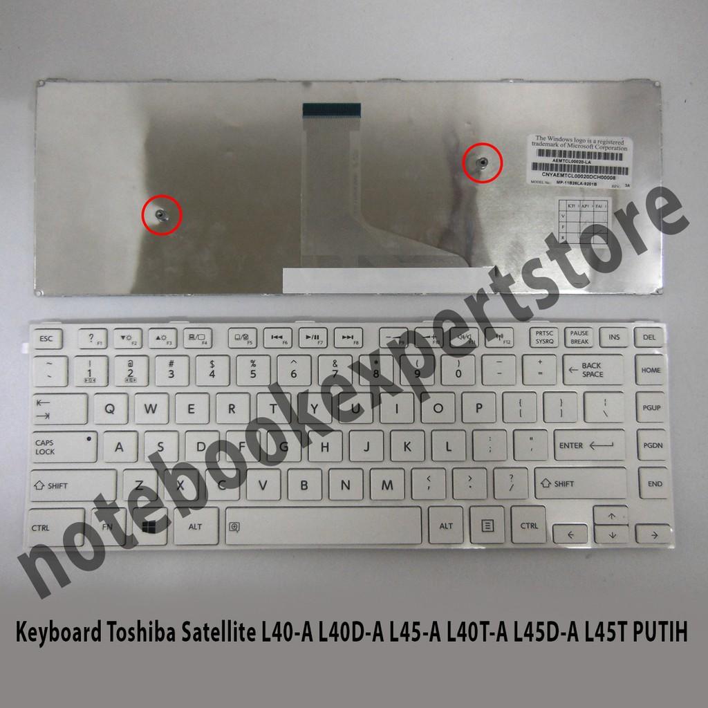 Keyboard Toshiba Satelite L735 L745 C600 C640 C645 L600 L645 L630 L640 L635 Series Glossy Shopee Indonesia