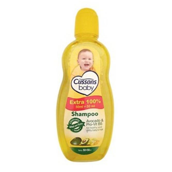ORIGINAL Cussons Baby Shampoo 100ml+100 ml & 50ml+50ml / Cusson Shampoo Bayi / LEDI MART-Shp Avocado 50+50