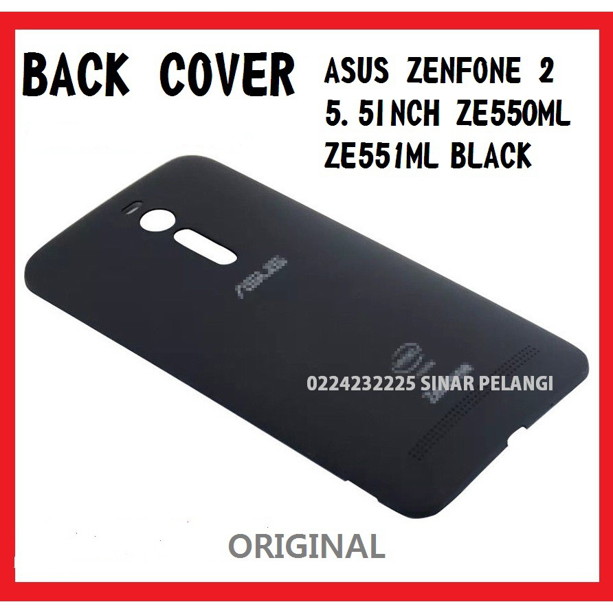 Back Cover Cassing Casing Asus Ze551ml Z00ad Zenfone 2 55 Ori Backdoor Tutup Belakang Shopee Indonesia