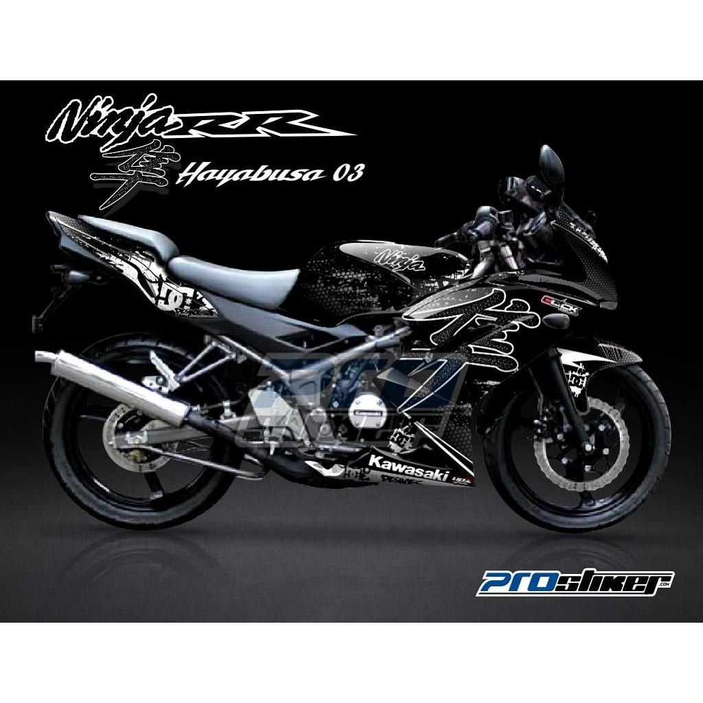 Decal kawasaki ninja rr mono 250cc motif sunmoon v2 motogp replica semua siap kirim shopee indonesia