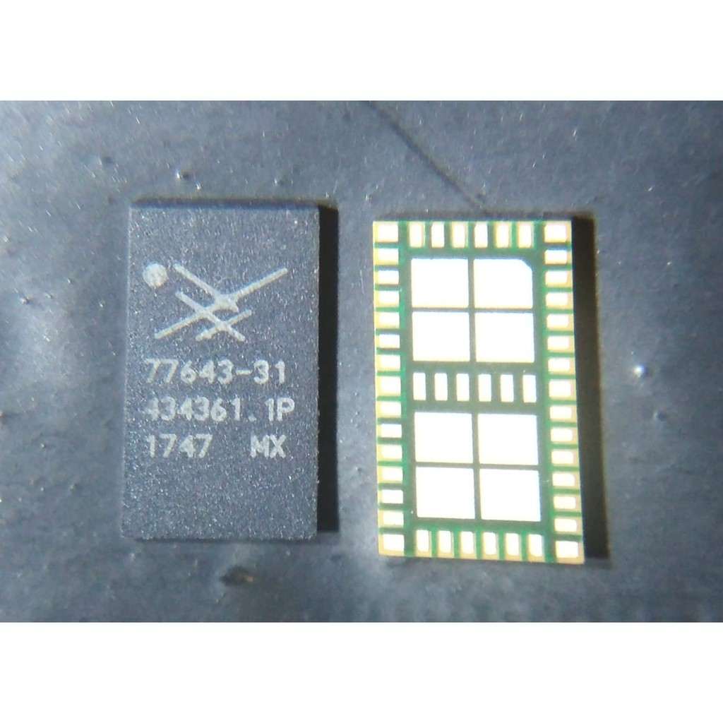 IC PA/RF CINA OPPO 77643-31 / OPPO R11