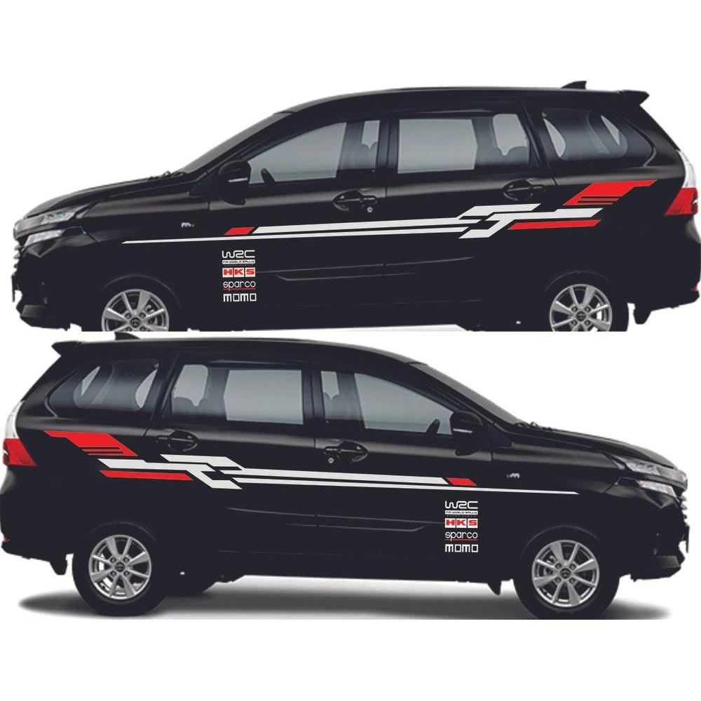 Stiker Mobil Avanza Cutting Stiker Avanza Striping Avanza Shopee Indonesia