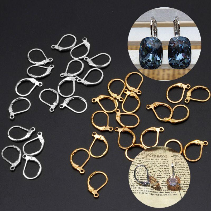 24 Sterling Silver Lever Back Earrings Earwire Findings