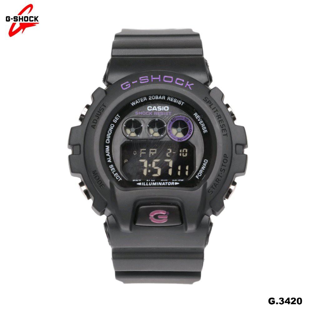 Jam Tangan Pria CASIO G-SHOCK DIGITAL DW-6900 TALI WARNA SUPER